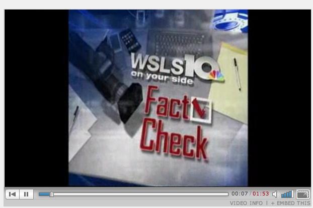 Reynolds Fact Check Proved False